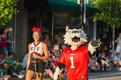 NIU Huskies Join in the Parade