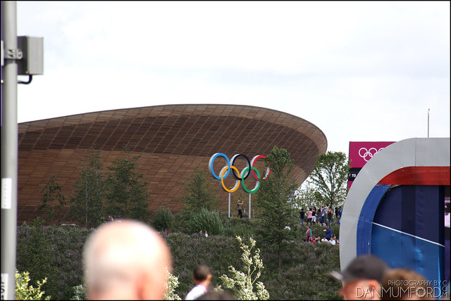 The Velodrome and The Olympic Rings