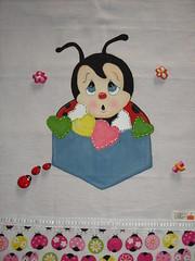 Pano de prato Joaninha (Pintura em tecido. Panos de prato.) Tags: joaninha panodeprato