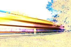 Rolling Through (The Braindead) Tags: life street light art minnesota st train bench paul photography lights graffiti interesting long exposure paint flickr painted tracks minneapolis twin rail explore trail most beyond the braindead cites flickrs thebraindead