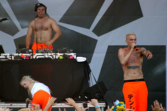 Lollapalooza 2012 - Die Antwoord