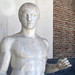 Polykleitos, Doryphoros, detail with bust
