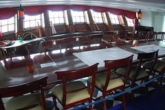 HMS Victory - Captain's Day Cabin Quarter Deck (Le Monde1) Tags: county england port town nikon harbour thomas nelson hampshi