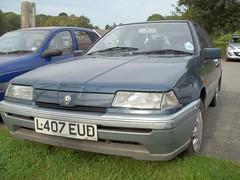 Proton 1.5SE 1993/4 (occama) Tags: blue car se cornwall 15 1993 automatic 1994 proton l407eud