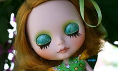 Shania's eyelids :)