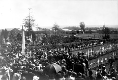 17408 (CWGC) Tags: new people blackandwhite white black france cross general ceremony archive images 106 unveiling po