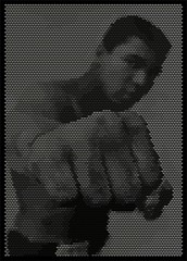 Cassius Marcellus Clay, Jr (tind) Tags: original macro star tools ali plugin adidas visualbasic vector cassius erato coreldraw tind madewithcoreldraw handcraftedwithcoreldraw