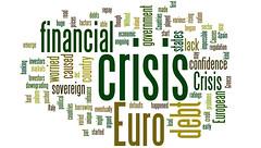 Euro Financial Crisis Word Cloud - Green