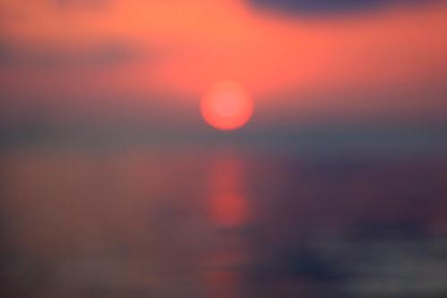 Variations on an orange sunset - Burning sky