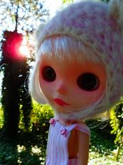 Pink ball of light