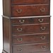 71. Mahogany Tall Chest