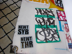 hype jade (gordon gekkoh) Tags: sanfrancisco graffiti sticker jade hype pcf newt kcm syb thr btm
