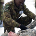 U.S. Forces perform mass casualty evacuation training with the Botswana Defence Force