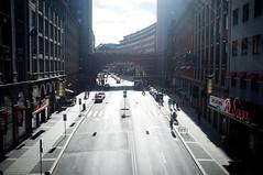 street (f x d b b b t) Tags: travel summer europe fuji sweden stockholm fujifilm sthlm 2012 x100