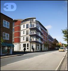 3D Visualisation Ltd - London Montage 1. (3D Visualisation Ltd) Tags: house architecture marketing 3d image yorkshire leeds images planning animation visuals visualization architects ltd vis visualisation cgi visualisations 3dvisualisation 3dhouse 3dmontage 3dvisualisationltd 3dvisualisationlimited 3dvisltd