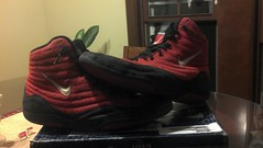 Red Reissue Inflicts (ohio wrestler-wants rulons size 11) Tags: blue red black shoes 10 wrestling 11 nike fungus 12 adidas rwb teals singlet rulon jackals sydneys legit asic lbn freeks agressor reissues footsweep grapps inflicts
