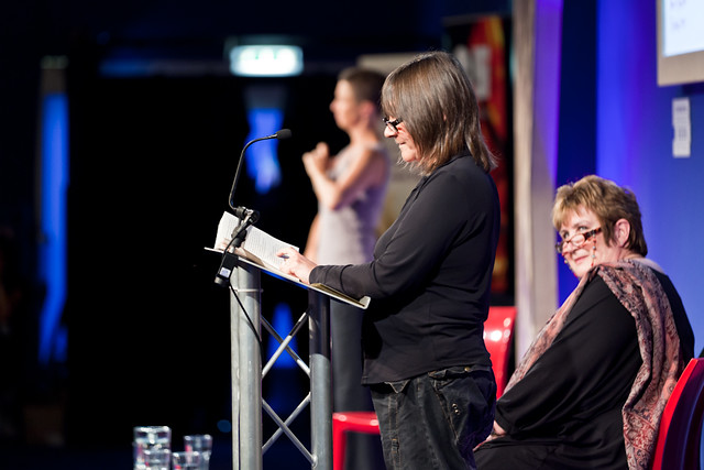 Ali Smith at the Scottish Mortgage Investment Trust awards