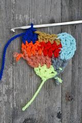 love is... (wood & wool stool) Tags: handmade valentine blogged  coloredheart woodwoolpostcard
