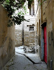 alley (sara.sfr) Tags: old bike alley قدیم قدیمی کوچه گاری بافتقدیم