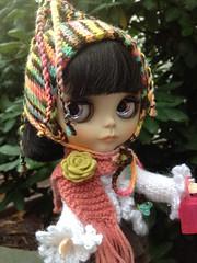 Kiki loves her new hat!