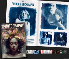#photography magazine #2 (pixelwelten) Tags: portrait art analog vintage mediumformat print photography kunst hamburg vanity sensual nah analogue delicate intimate cyanotype cyanotypes altprocess mittelformat cyano cyanotypie alternativeprintingprocess altproc nachhaltig pixelwelten rdigerbeckmann hashtag edeldruck beyondvanity jenseitsvoneitelkeit rdiger beckmannbeyond