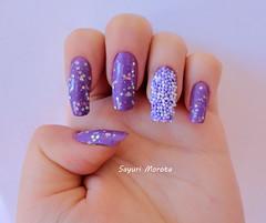 Caviar (Sayuri Morota) Tags: art girl fashion nail nails unhas nailart unha capricho esmaltes esmalte