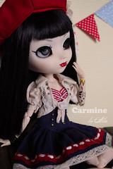 Carmine by LLD (Ala) Tags: party vintage tea handmade swap pullip custo lld carmine azazelle