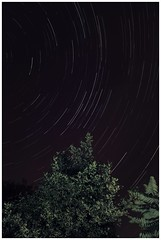 Wilnecote Stars (glovstr) Tags: england canon star paint d flash trails 7 stack trail 7d staffordshire stacked tamworth staffs wilnecote 1000d startrailsde
