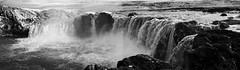 Godafoss (ustrassmann) Tags: panorama water island waterfall iceland wasser wasserfall infrared godafoss infrarot panoramafotografie infrarotfotografie