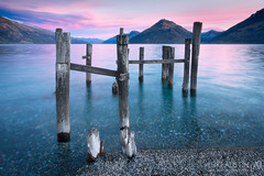 Lake Wakatipu - New Zealand (Luke Austin) Tags: sunset newzealand queenstown lakewakatipu