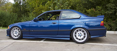 My 95 M3 (Brian Neary) Tags: car suspension brian bmw neary 1995 m3 lowered slammed stance coilovers adjustable e36