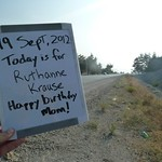"""Today is for RuthAnne Krause - Happy birthday Mom <a style=""""margin-left:10px; font-size:0.8em;"""" href=""""http://www.flickr.com/photos/59134591@N00/8002239171/"""" target=""""_blank"""">@flickr</a>"""