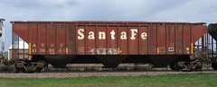 ATSF 315686 (MN transfer) Tags: railroad santafe car train ps2 freight atsf atchisontopekasantafe coveredhopper pullmanstandard 3bay september19th2012 atsf315686