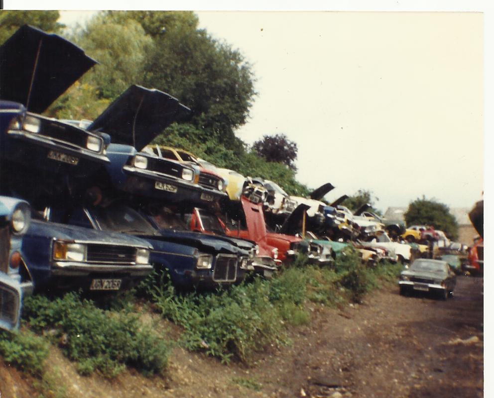Image result for cortina scrapyard