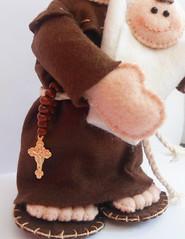 Santo Antnio (Fbrica de Artes by lubieska) Tags: casamento feltro santo antnio bouque