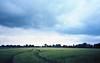 Emsland (Jos Mecklenfeld) Tags: leica film field 35mm germany landscape deutschland kodak wheat germania duitsland landschap emsland ektar niedersachsen minilux lowersaxon leicaminiluxzoom nedersaksen kodakektar100 epsonv500 hahnentange