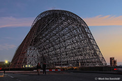 Hangar One (mvonraesfeld) Tags: field one space flight center nasa research final frame shuttle ames hanger moffet endeavour img9330