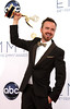 Aaron Paul 64th Annual Primetime Emmy Awards, held at Nokia Theatre L.A. Live