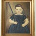 83. 20th Century Portrait of Child with Riffle