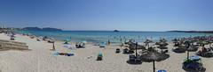 Sonne satt (rainer.marx) Tags: leica panorama beach strand lumix meer urlaub panasonic holliday spanien malorca calamillor fz1000