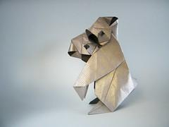 Koala - Oriol Esteve (AKA trickster origamist) (Rui.Roda) Tags: origami papiroflexia papierfalten koala oriol esteve trickster origamist