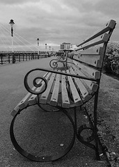 Benches (Thrift) Tags: southport seaside resort seasideresort bench