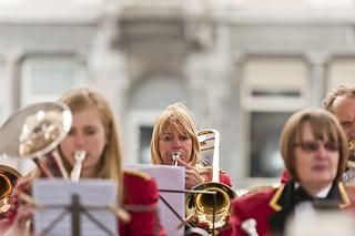 Louise Arkley on Trombone