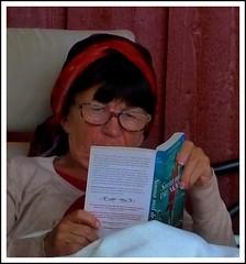 Holiday Reading (swenwllter) Tags: lars mytting reading reader book books