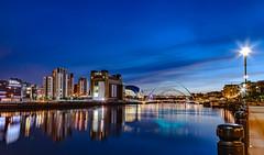 Newcastle quay side blue hour (Paul Rogers Photography) Tags: newcastle quay side upon tyne