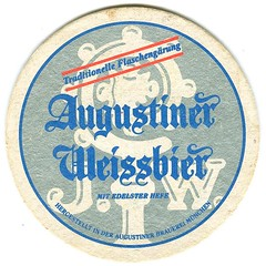 Augustiner Weissbier (Just Back) Tags: hergestellt munich germany beer coaster cork edelst hefe words print drink traditionelle edelster fine highquality brauerei flaschengrung bottle fermentation tradition oldtime