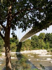Casalecchio di Reno Ponte di Pace (Paolo Bonassin) Tags: italy emiliaromagna casalecchiodireno pontedipace bridges ponti bridge ponte fiumi reno rivers fiumereno