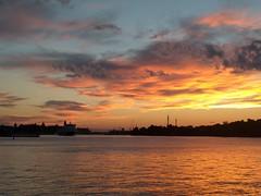 Stockholm evenings (AdamTje) Tags: uploadedwithflync flyncbeta nexus5x mobilephotography stockholm sweden evening sunset ferry