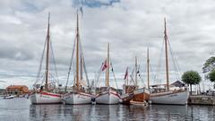 P1010628 (Terje G) Tags: trebåt woodboat båt boat risør norge norway sea sjø holidays ferie ship lumix gx8 m43 lumix14140mm panasonic sail seil sailboat seilbåt mast sailing seiling