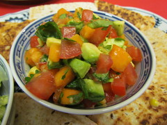 Tropical Avocado Salsa Fresca (dimsimkitty) Tags: veganomicon